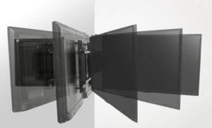 Elektryczny uchwyt ścienny do telewizora – SWING-MOUNT IR