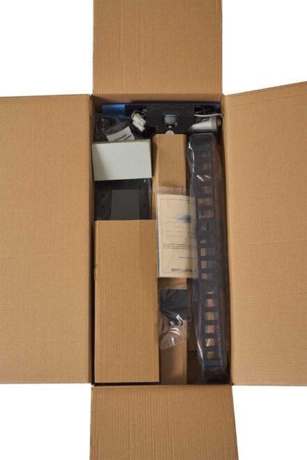 Box with motorised RF steered TV lift from K-Premium series - Sabaj System