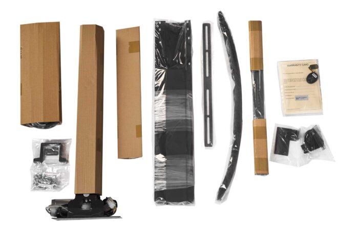 Box elements from RF motorised tv lift series K-Premium - Sabaj System